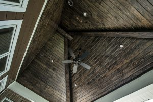 home porch ceiling addtion